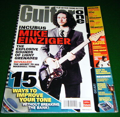 Solo Like FRANK ZAPPA, Incubus Mike Einziger, DIGITECH RP PEDALS 2007 Guitar One