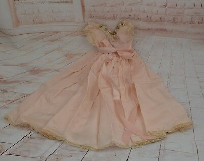 Vintage Madame Alexander Cissy Doll Pink Nightgown