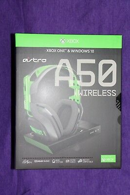 Astro Gaming A50 Gen 3 Wireless Gaming Headset + Base Station XBOX ONE / PC NEW