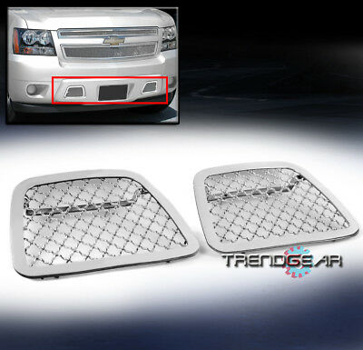 07-14 Chevy Avalanche/suburban/tahoe Bumper Tow Hook Stainless Mesh Grille Grill