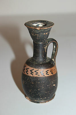 ANCIENT GREEK POTTERY LEKYTHOS 3rd CENTURY BC