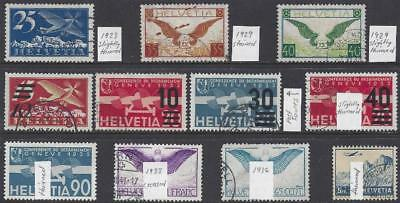 Switzerland Air Selection – Space-Savers with faults!! (2 scans)
