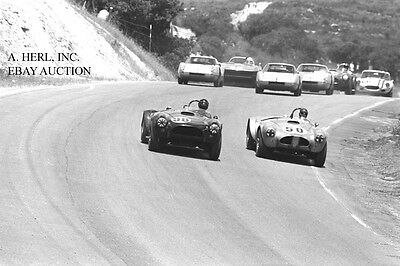 AC Cobra Ford Shelby first racecar in debut race Laguna Seca 1962 4 photo