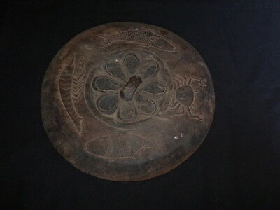 Large Container Lid From The Dayak, Borneo Island