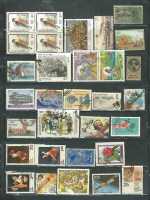 India lot 2 nice selection good range of stamps. M/U as scanned [1266]