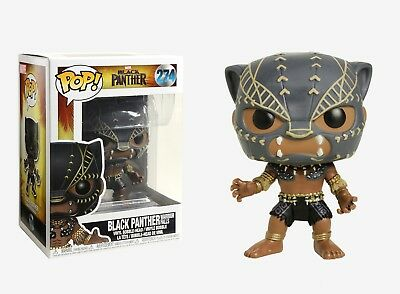 Funko Pop Marvel: Black Panther - Black Panther Warrior Falls Vinyl Bobble-Head