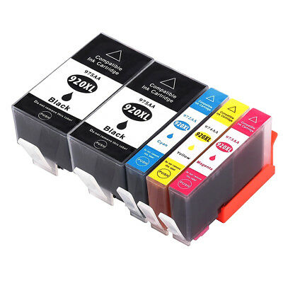 5x Ink Cartridges for HP 920XL Officejet 6500A 7000 6000 6500 7000A 7500A E609a