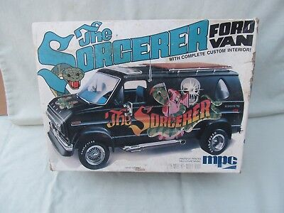 1977 MPC Model Kit / THE SORCERER FORD VAN / 1/25 Scale / Item #1-0415