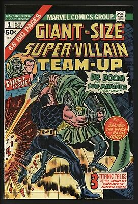 Ginat Size Super-Villian Team-Up #1 - Bought It Myself At The Time - Great Copy
