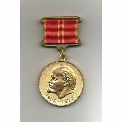 Russia (USSR) Medal 100th Anniversary of the Birth of Lenin