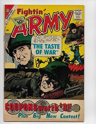 Fightin Army 41 - Vg 4.0 - Battling Nazis - Silver Age War Stories (1961)