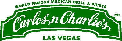 $50 Dining And Drinking At Carlos'n Charlie's Mexican Bar & Restaurant Las Vegas