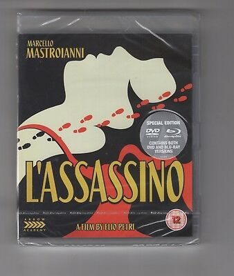 L'ASSASSINO  (Blu-ray/DVD) ARROW  ACADEMY UK Region B Dual Format