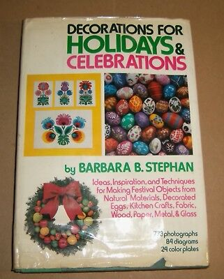 1970's Holiday Craft Book Christmas Easter Ornaments Decorations Gifts Retro