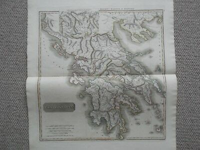 Ancient Greece. Graecia Antiqua. 1819. Thomson Historical Atlas. D'anville
