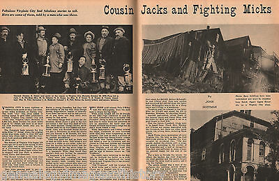 Cousin Jacks and Fighting Micks Moners In America