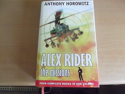 Alex Rider The Missions(Stormbreaker, Point Blanc, Skeleton Key & Eagle Strike)