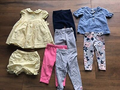 Baby Girl 9 Month Clothes Lot