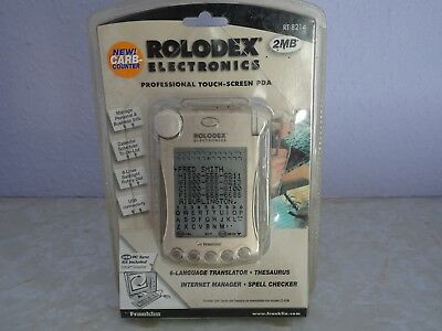 ROLODEX Electronic PDA new