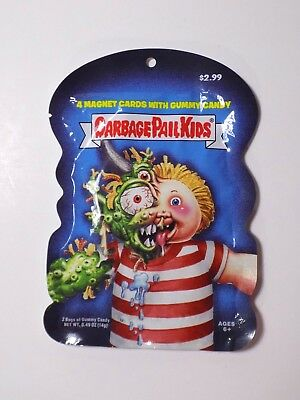 Beasty Boyd Garbage Pail Kids Magnet Cards With Gummy Candy Unopened Pack