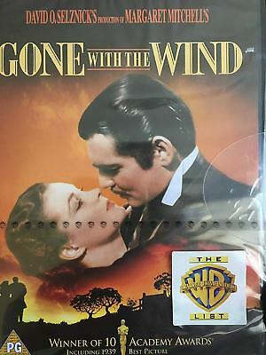 GONE WITH THE WIND (1939) Clark Gable / Vivien Leigh (New & Sealed R2 DVD)