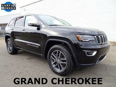 2017 Jeep Grand Cherokee Limited 2017 Jeep Grand Cherokee Limited SUV Used 3.6L V6 24V Automatic RWD