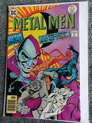Metal Men  DC #48. 1976
