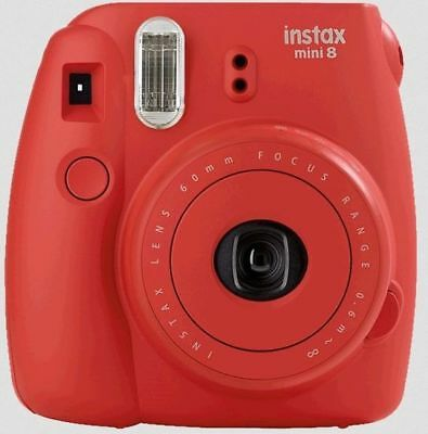 Fujifilm Instax Mini 9 Poppy Red Sofortbildkamera inc. 1Film
