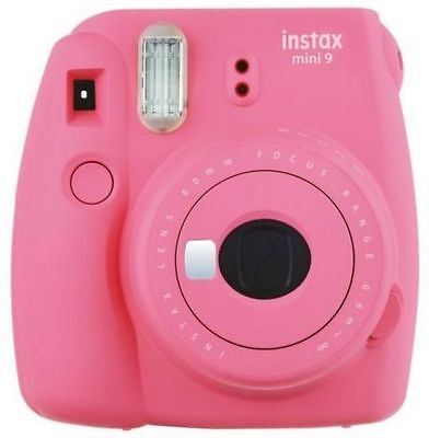 Fujifilm Instax Mini 9 Flamingo Pink Sofortbildkamera inc. 1Film