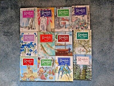 Readers Digest Magazine 1964 Complete Year Set Lot 12 Soft Cover