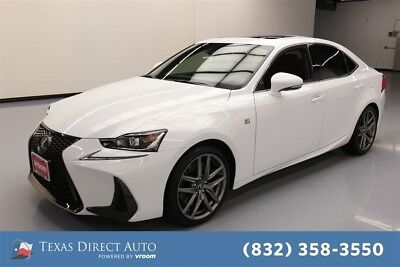 2017 Lexus IS  Texas Direct Auto 2017 Used 3.5L V6 24V Automatic AWD Sedan Premium