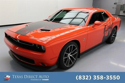 2018 Dodge Challenger R/T Scat Pack Texas Direct Auto 2018 R/T Scat Pack Used 6.4L V8 16V Automatic RWD Coupe