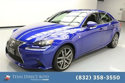 2016 Lexus IS  Texas Direct Auto 2016 Used Turbo 2L I4 16V Automatic RWD Sedan Premium Moonroof