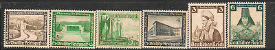 German Semi-Postals Lot from Old Collections  #   5  MNH
