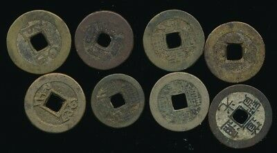8 Vintage/Ancient CHINESE COINS.......Fast Post
