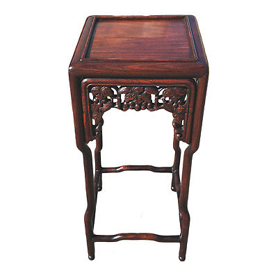 Chinese Rosewood Carved Small Table 19th C.