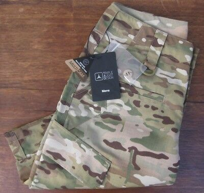 """TAD GEAR, TRIPLE AUGHT DESIGN """"Force 10 RS Cargo Short"""" Size W30, MultiCam, NEW!"""