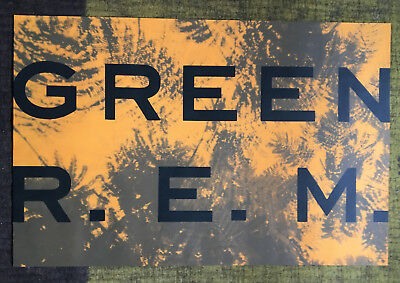 REM GREEN 1988 PROMO POSTER IN NICE CONDITION 23x35