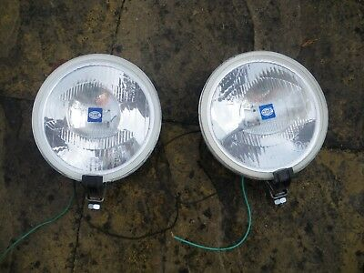 Pr Hella Rallye 1000 Driving lamps with  stoneguards; Landrover, off-road, 4x4,