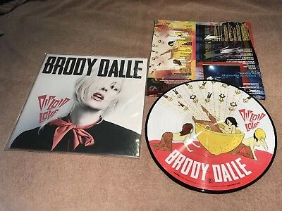 """BRODY DALLE """"DIPLOID LOVE"""" LP RARE distillers spinnerette queens stone age"""