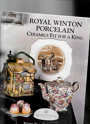 ROYAL WINTON PORCELAIN w PRIVE GUIDE byEILEEN ROSE BUNDY