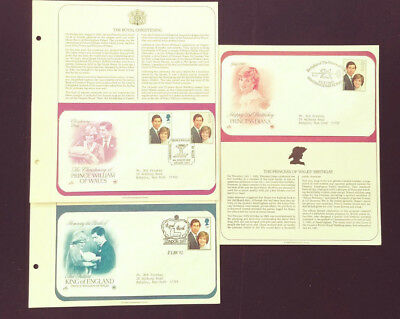 1982 Princess Diana Prince William Commemorative Covers Bob Keeshan Collection