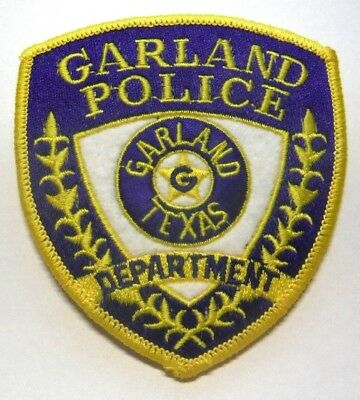 Old Garland Texas Police Patch Unused