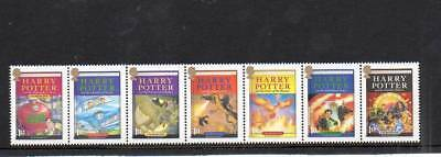 (T538) 2007 Harry Potter  Mnh Tennon Set Of 7 More Listed