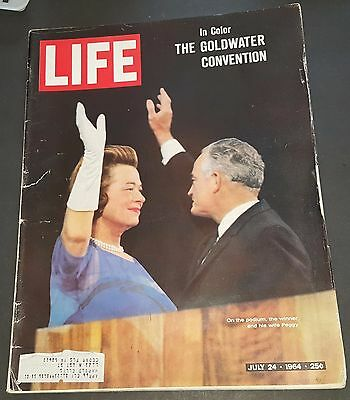 July 24, 1964 LIFE Magazine 60s advertising ads ad FREE SHIPPING 7