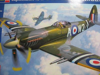 Spitfire Mk 22 1/32 Model kit by Revell all cmplete see photos