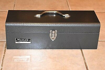 "New Vintage 1970's Homak Tool Box Chest #429 19 1/4"" x 7"" x 6"" Tall  Chicago"