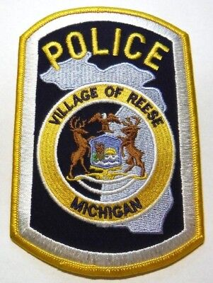 Reese Michigan Police Patch Unused