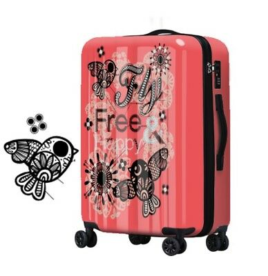 A284 Fashion Lock Universal Wheel ABS+PC Travel Suitcase Luggage 24 Inches W