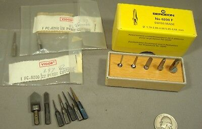Bergeon Reamers for Clock Bushing Tool for Watchmaker Clockmaker